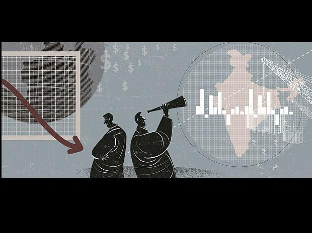 Illustration, economy, indian economy, CAD, growth, india's growth
