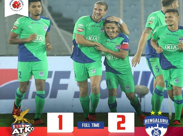 6450257f1 ISL 2018-19  Bengaluru FC come from behind to defeat ATK 2-1 in ...