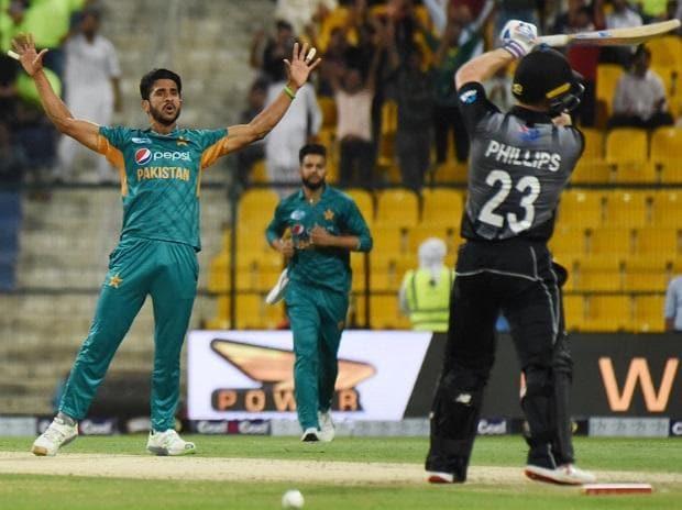 Pakistan bowler Hasan Ali