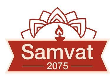 Diwali Samvat 2075 logo