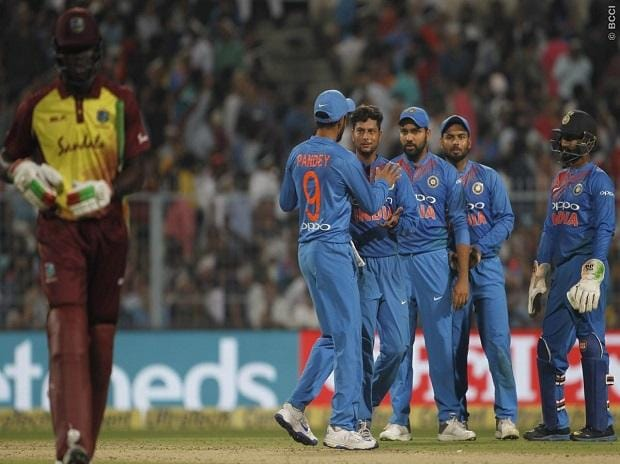 India Vs West indies 2018 1st T20