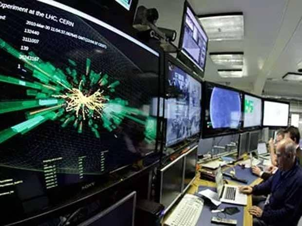 Researchers at the Cern laboratory