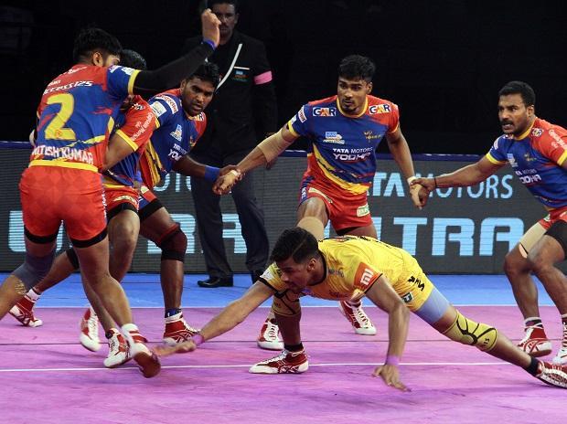 PKL 2018, Telugu Titans vs UP Yoddha