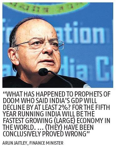 Note ban expanded tax base, led to digitisation, says Arun Jaitley
