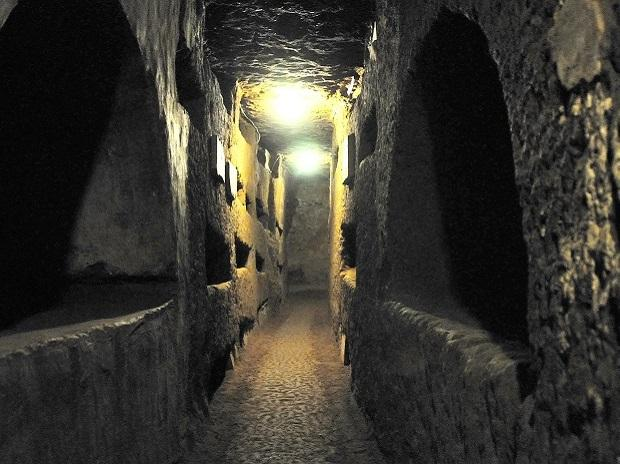 Catacombs of St. Domitilla, Italy