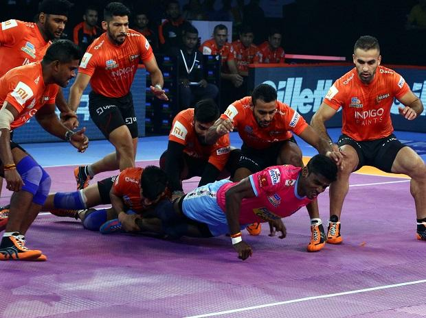PKL 2018, U Mumba vs Jaipur Pink Panthers