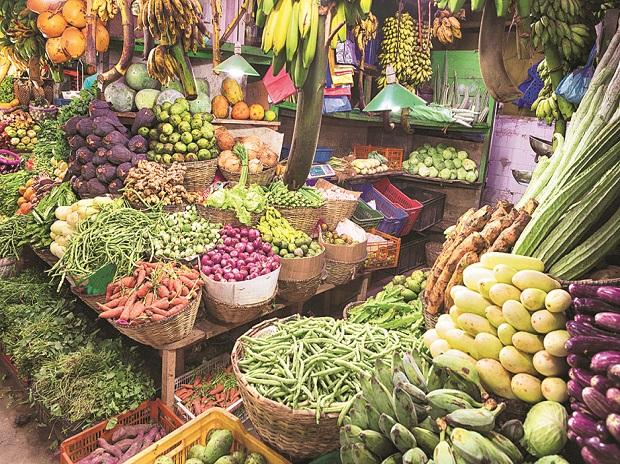 Vegetable, Retail inflation