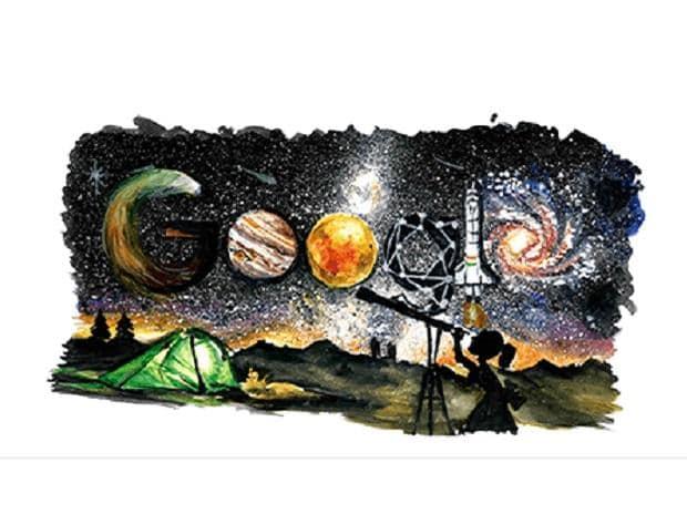 Childrens day, google doodle