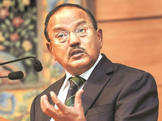The CBI official said during interrogation of a middleman the names of National Security Advisor Ajit Doval (pictured) and Samant Kumar Goel, special director of R&AW, came up