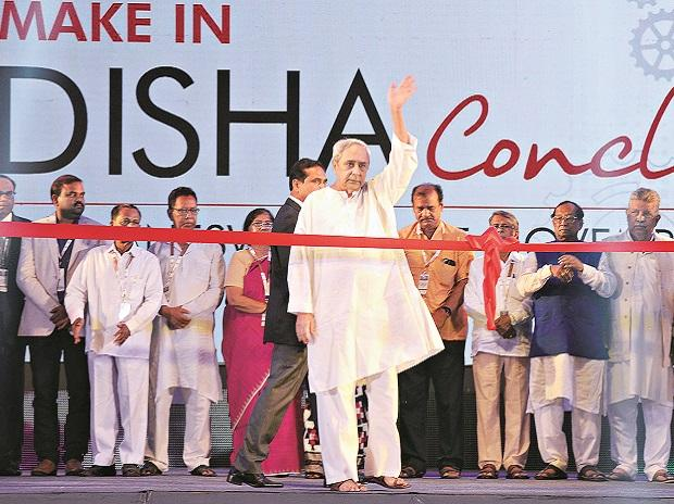 Chief Minister Naveen Patnaik (centre) wants to implement 75 per cent of the fresh investments over the next two years