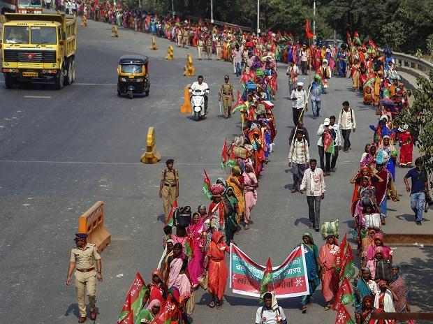 Maharashtra farmers' protest