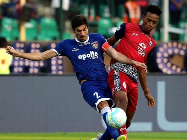 Jamshedpur FC vs Chennaiyin FC (Photo: www.indiansuperleague.com)