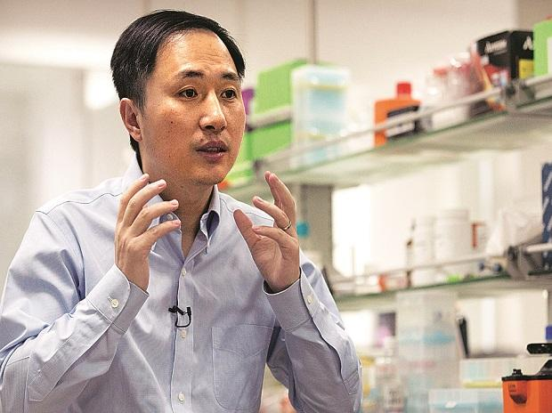 He Jiankui, an American-educated scientist based in Shenzhen, claimed he used Crispr, a powerful gene-editing tool, to make recently born twin girls resistant to HIV(Photo: AP/PTI)