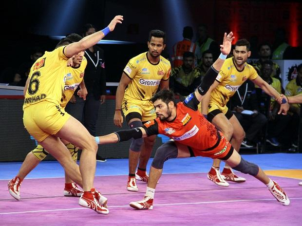 PKL 2018 today match Bengaluru Bulls vs Telugu Titans