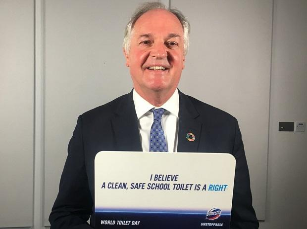 Photo: Paul Polman, Twitter @PaulPolman