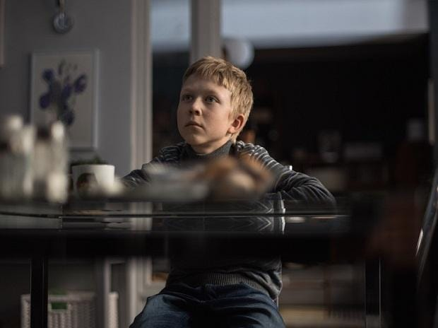 stills from Loveless,  a commentary on  the moral rot  of a hollow society
