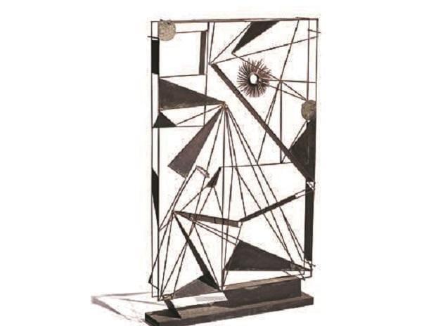 Sadanand K Bakre's 1950s bronze sculpture, Untitled, was auctioned at Rs15 million