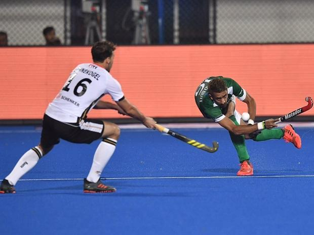 69b470a1f4e Hockey World Cup 2018 highlights  Germany beat Pak 1-0  NED thrash ...