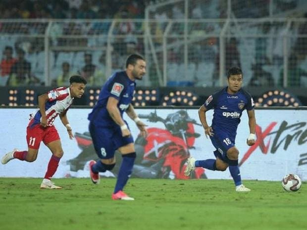 Chennaiyin FC vs ATK (Photo: www.indiansuperleague.com)