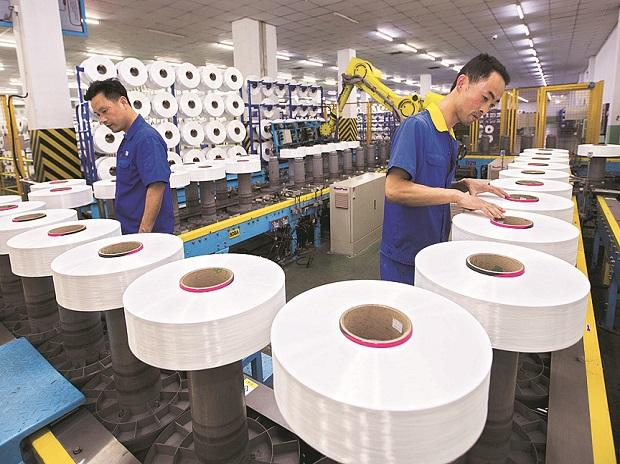 File photo| A textile factory in China. The country's growth is slowing more than experts anticipated (Photo: Reuters)