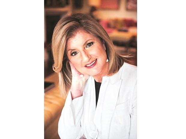 Arianna Huffington, co-founder and former editor-in-chief of Huffington Pos