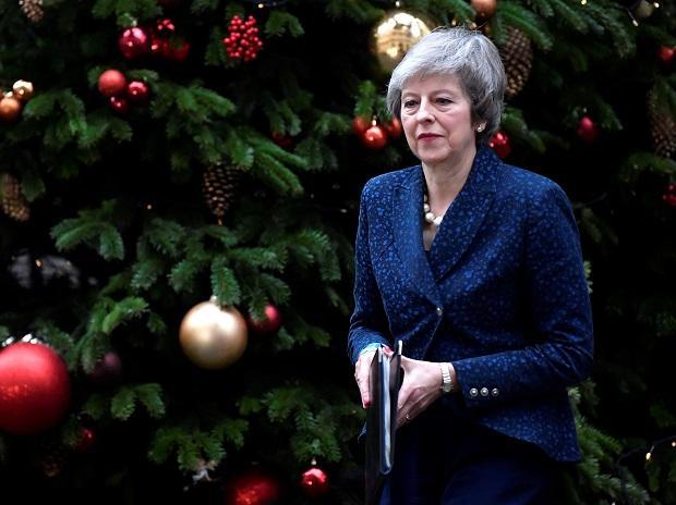 File photo of Theresa May