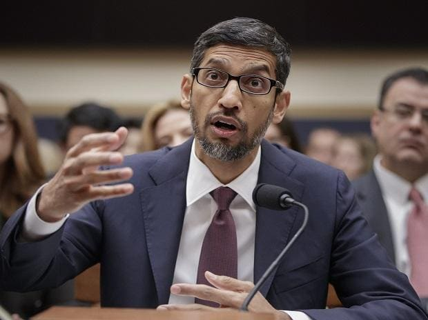 Google CEO Sundar Pichai appears before the House Judiciary Committee to be questioned about the internet giant's privacy security and data collection, on Capitol Hill in Washington (Photo: AP/PTI)