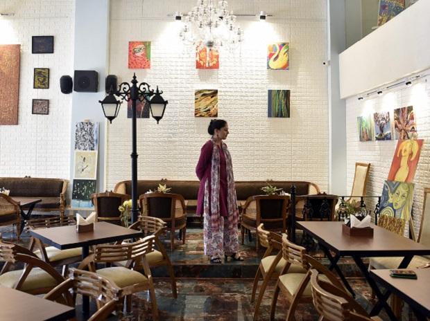 The Art House Cafe in Delhi