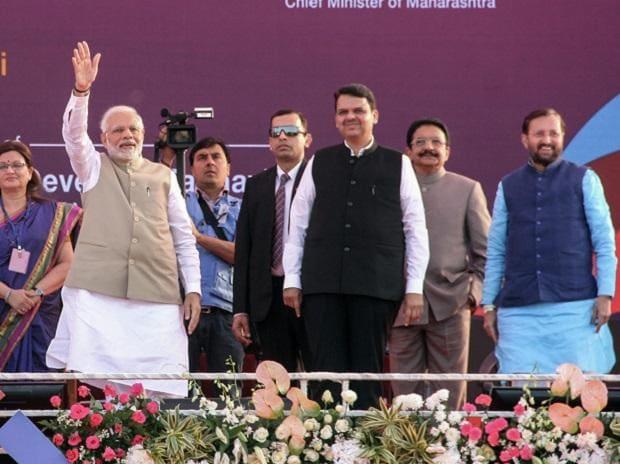 PM Modi, narendra modi, devendra fadnavis, prakash javdekar,modi, pm modi