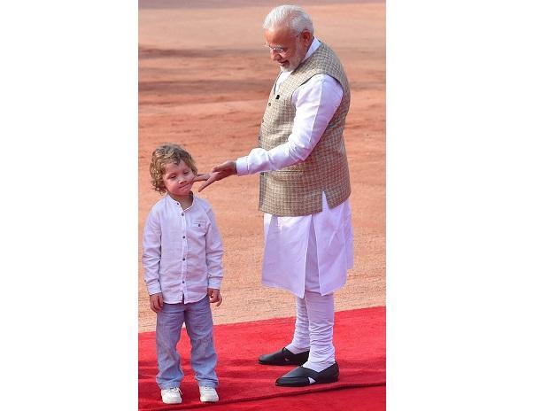 #12 Narendra Modi with Hadrien Trudeau