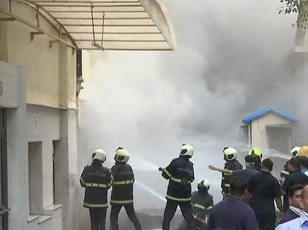 mumbai fire, sadhna mill fire, fire,