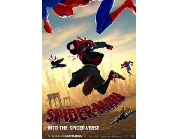BEST ANIMATED FEATURE- Spider-Man: Into the Spider-Verse