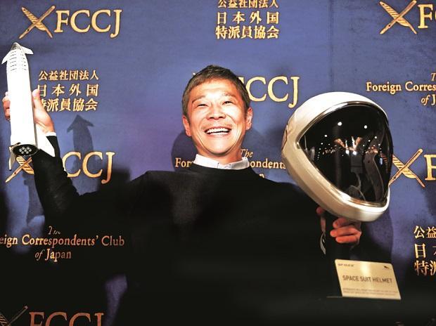 Yusaku Maezawa, founderof fashion retailer Zozo