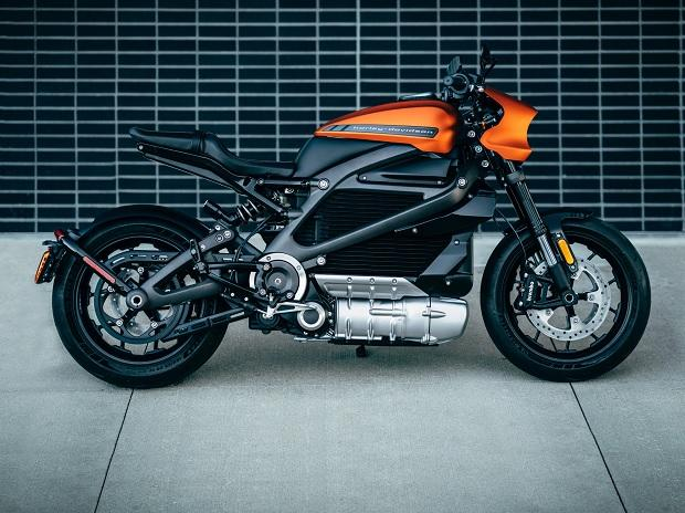 Harley Davidson unveils LiveWire, an all-electric motorcycle