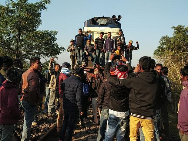 Protesters block tracks in Guwahati and Dibrugarh districts