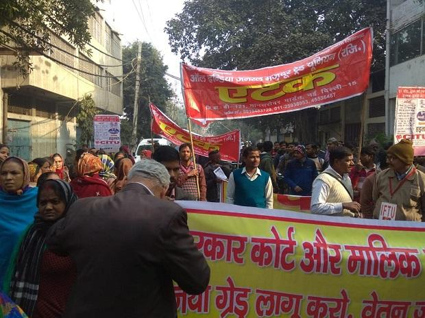 Unions to go on protest march from Mandi House to Parliament in New Delhi on Wednesday
