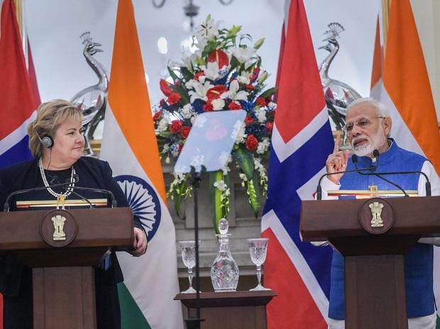 India, Norway work in cooperation on UN Security Council reforms & terrorism: PM Modi