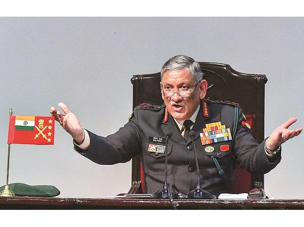 Army Cheif, General Bipin Rawat