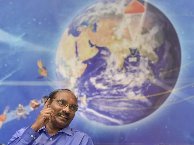 Indian Space Research Organisation (ISRO) chairman K Sivan addresses a press conference on the launch of India's second Moon mission, Chandrayaan-2, at Antariksh Bhavan in Bengaluru, Friday