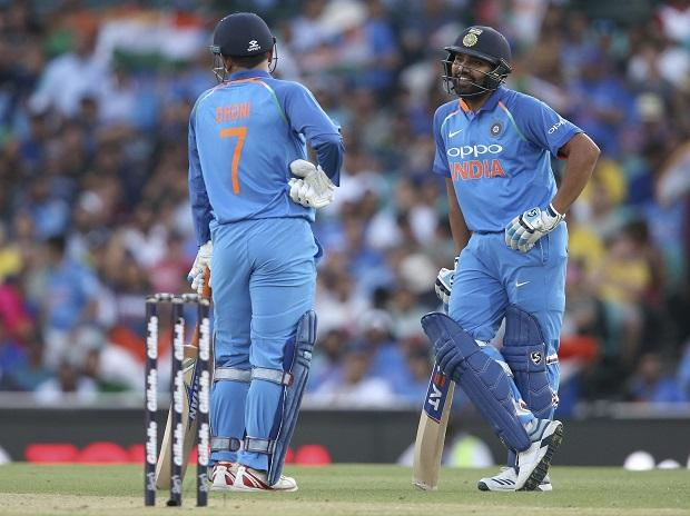India vs Australia 2018-19, Rohit Sharma, MS Dhoni