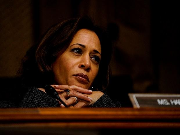 A file photo of Kamala Harris	(Photo: Reuters)