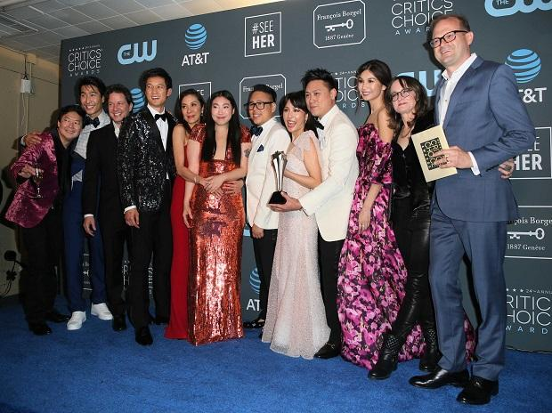 BEST COMEDY- Crazy Rich Asians