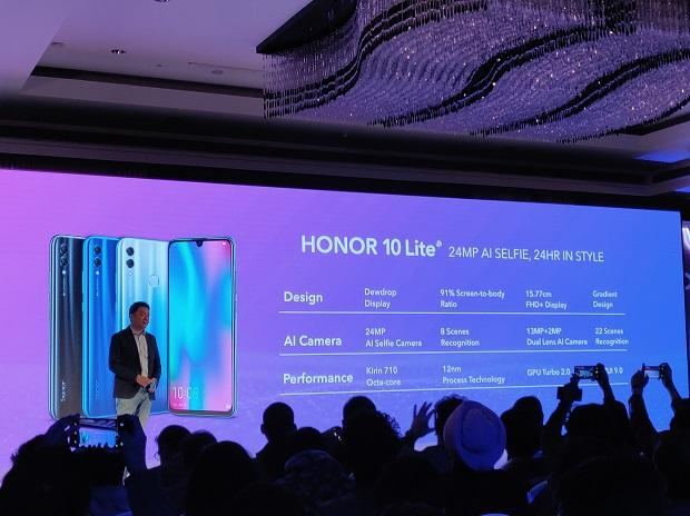 Honor 10 Lite with Kirin 710 SoC, dewdrop notch launched