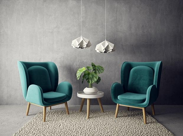 layered accent chairs from Mads Creations