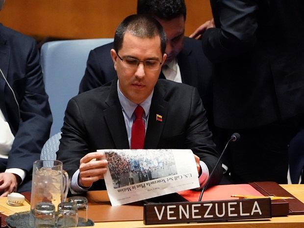 Venezuela Foreign Minister Jorge Arreaza