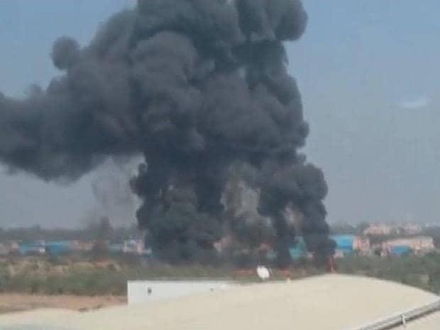 IAF plane crash in Bengaluru