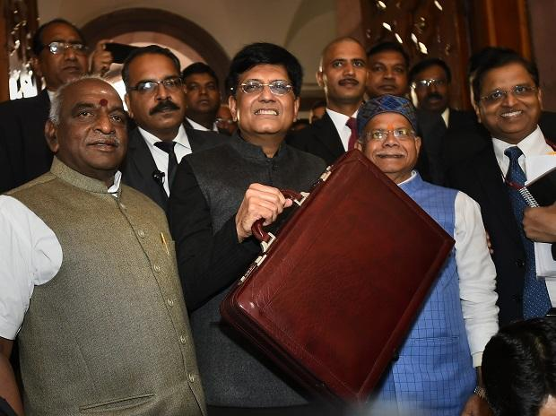 Finance Minister Piyush Goyal
