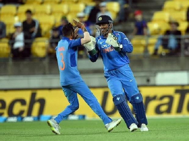 India beat New Zealand by 35 runs in their fifth one day international at Westpac Stadium in Wellington, New Zealand