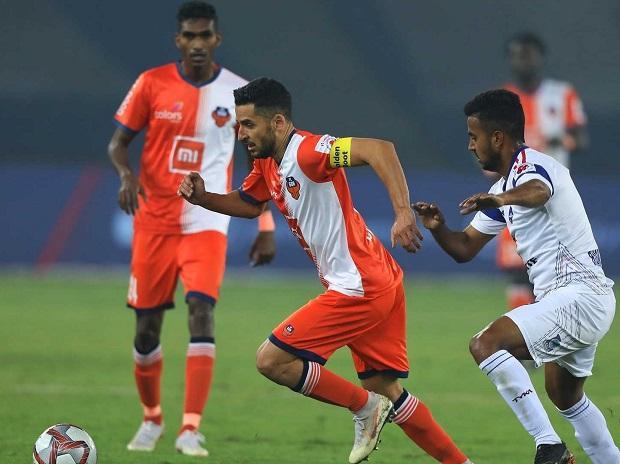 Delhi Dynamos FC vs FC Goa (Photo: www.indiansuperleague.com)