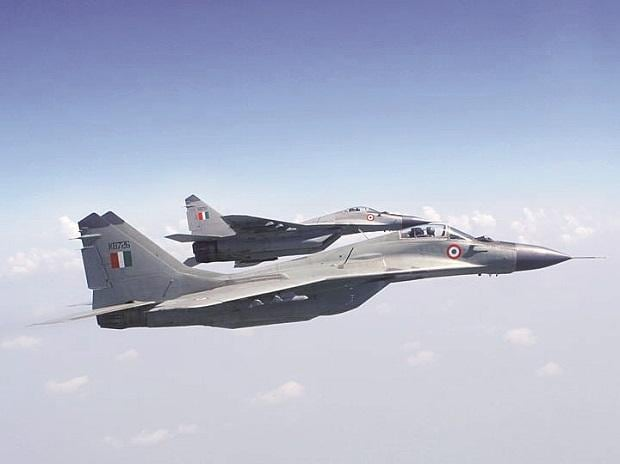 The IAF's existing 69 MiG-29s are currently undergoing a $900-million mid-life upgrade to the MiG-29UPG standard	Photo: Indian Air Force website